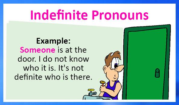 Đại từ bất định(Indefinite pronouns)